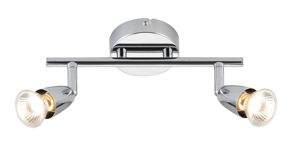 Indoor Bar Amalfi twin 50W Chrome 43278